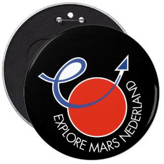 Explore el zwart del botón de Marte Nederland Pin