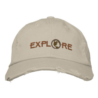 Explore Embroidered Baseball Cap