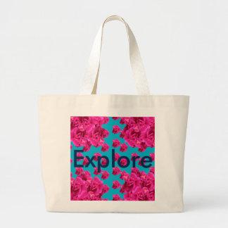 Explore Explorer Shopping Bags Beach Totes