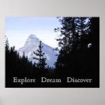 Explore ideal descubren la montaña escénica impresiones