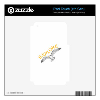 Explore iPod Touch 4G Decal