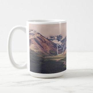 Explore la taza de Alaska del paisaje el |