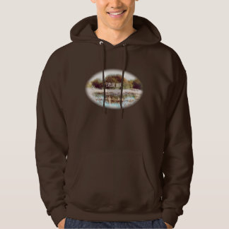 Explore More wilderness adventure hooded top