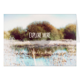 Explore More wilderness Card