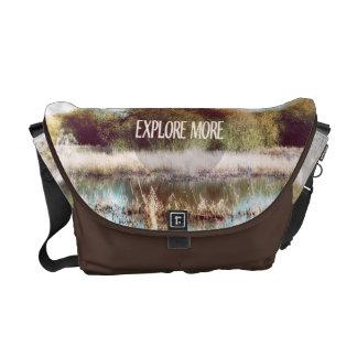 Explore More wilderness Messenger Bag