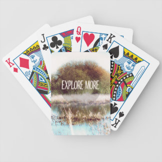 Explore More wilderness Playing Cards