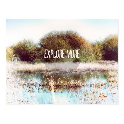 Explore More wilderness Post Cards