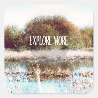 Explore More wilderness Stickers