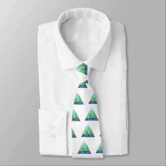 Explore Nature Outdoors Wilderness Mountains Neck Tie