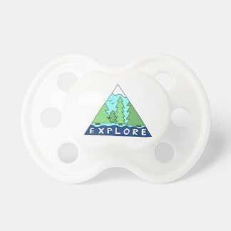 Explore Nature Outdoors Wilderness Mountains Pacifier