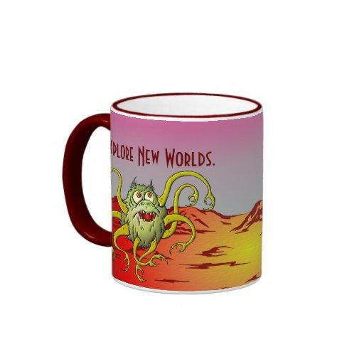 Explore New Worlds Coffee Mugs