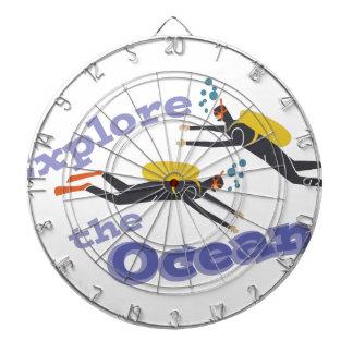 Explore Oceans Dart Board