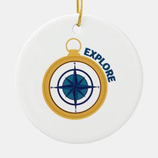Explore Ornament