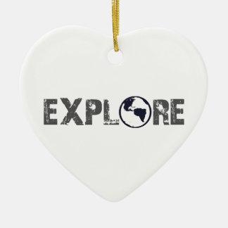 Explore Ceramic Heart Decoration