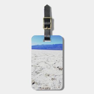 Explore salts @ Badwater Basin    Death Valley    Bag Tag