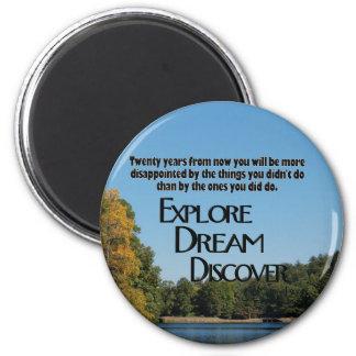 Explore, soñe y descubra el imán