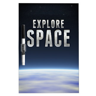 Explore Space Dry Erase Whiteboards