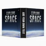 Explore Space Vinyl Binders