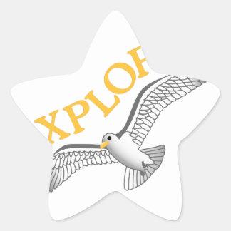 Explore Star Sticker