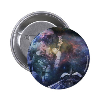 Explore the Beauty of Space 2 Inch Round Button