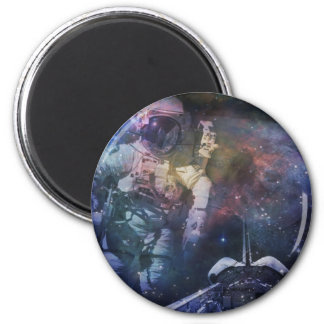 Explore the Beauty of Space 2 Inch Round Magnet