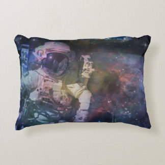 Explore the Beauty of Space Accent Pillow