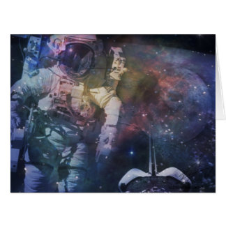 Explore the Beauty of Space Card
