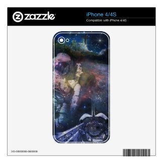 Explore the Beauty of Space Decal For The iPhone 4