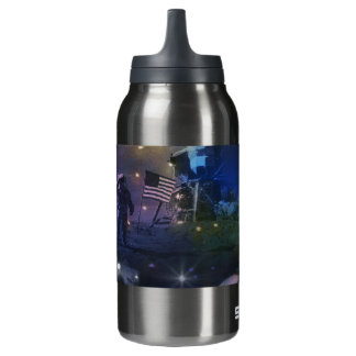 Explore the Beauty of Space Insulated Water Bottle