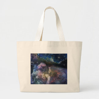 Explore the Beauty of Space Large Tote Bag