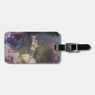 Explore the Beauty of Space Luggage Tag