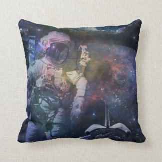 Explore the Beauty of Space Throw Pillow