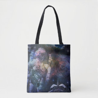 Explore the Beauty of Space Tote Bag