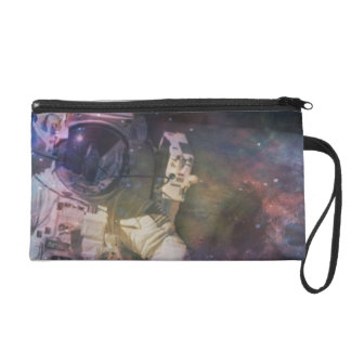 Explore the Beauty of Space Wristlet