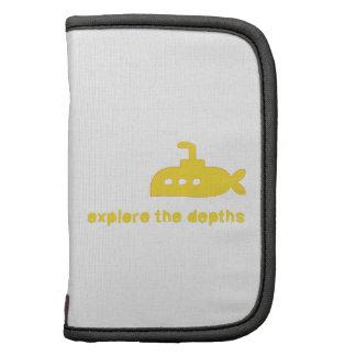 Explore the Depths Folio Planner