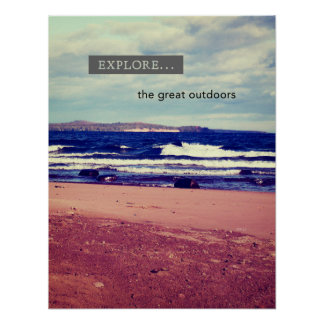 Explore The Great Outdoors Print