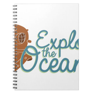 Explore The Oceans Notebook