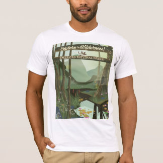 Explore the wilderness! See USA National Parks T-Shirt