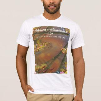 Explore the Wilderness! visit USA T-Shirt
