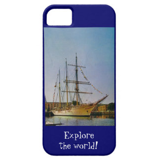 Explore the world iPhone SE/5/5s case