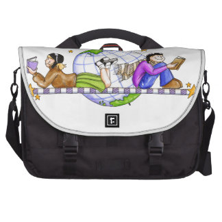 Explore The World; Read Commuter Bags