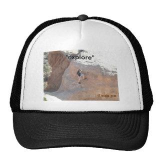 """""""explore"""" trucker hat"""