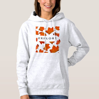 Explore with Leaves Hoodie