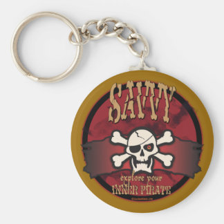 Explore Your Inner Pirate Keychain