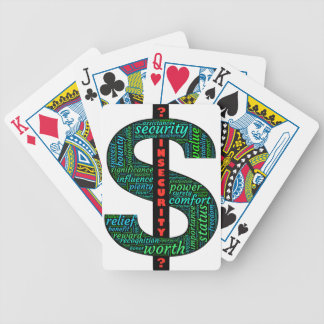 Explore your personal $ motivations as you compete bicycle playing cards