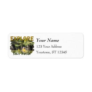 Explore Your World Return Address Labels