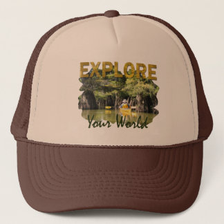 Explore Your World Trucker Hat