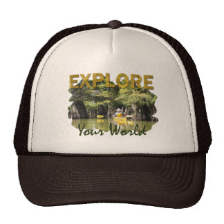 Explore Your World Trucker Hat