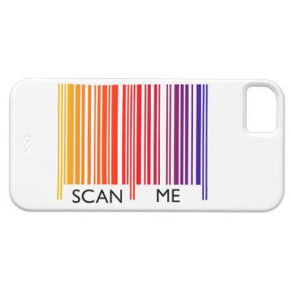 Explóreme código de barras colorido iPhone 5 cárcasas