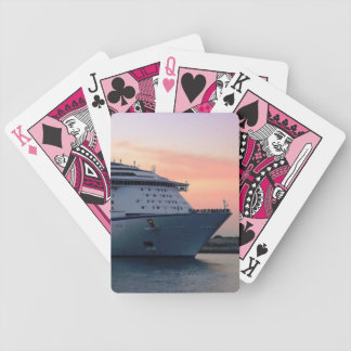 Explorer at Evening Bicycle Playing Cards